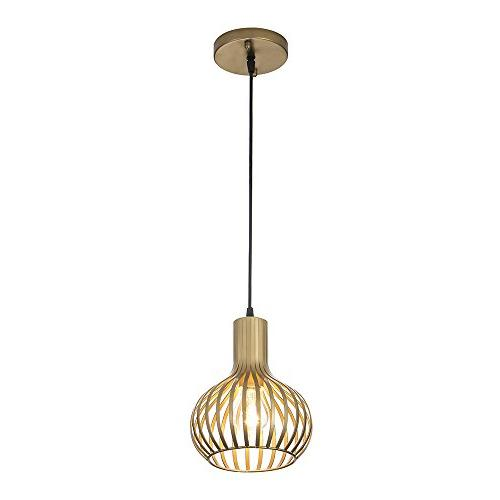 Popilion Gold Metal Ceiling Pendant Adjustable Pendant Gold Smooth