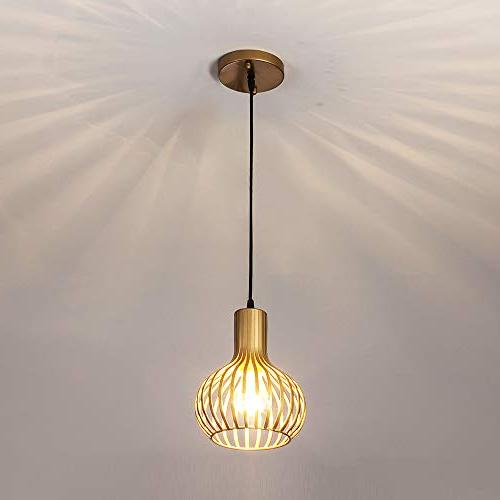 Popilion Ceiling Pendant Pendant Gold and