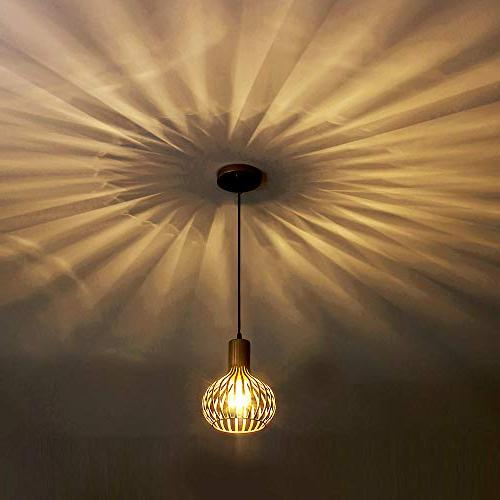 Popilion Vintage Ceiling Pendant Pendant Lights with Gold