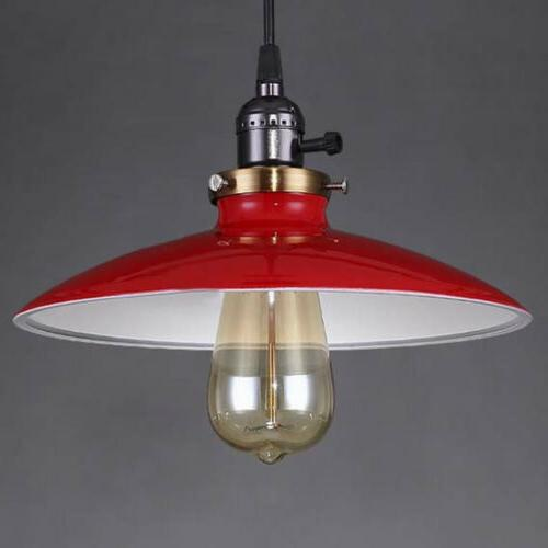 Vintage Industrial Pendant Lamp Cafe Hanging Fixture