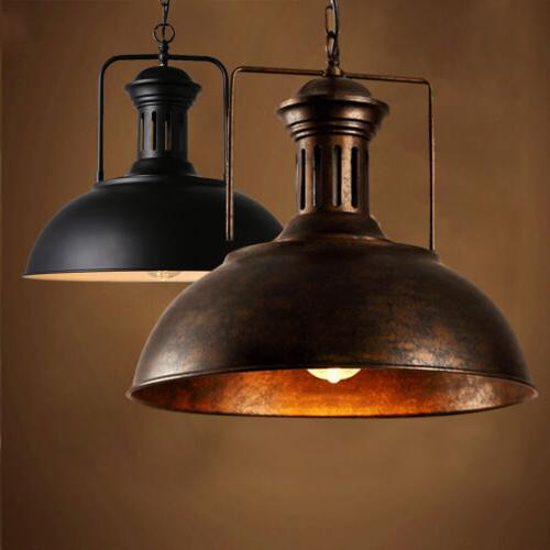 vintage industrial warehouse barn pendant light ceiling