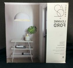 Project 62 Leanne Ford Frank Large Pendant Light Aged White
