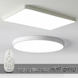 LED Ceiling Down Light Dimmable Ultra Thin Flush Mount Kitch