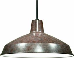 Lighting Warehouse Pendant 16-inch shade, Old Bronze - Nuvo