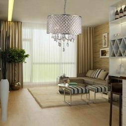 Luxury 4Light Crystal Chandelier Pendant Light With Crystal