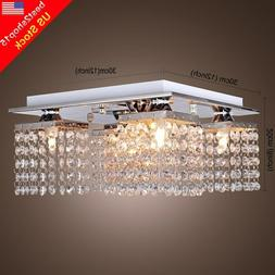 Modern Crystal Chandelier 5 Ceiling Light Lamp Pendant Fixtu
