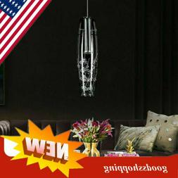 Modern Crystal LED Ceiling Lamp Hanging Pendant Light Fixtur