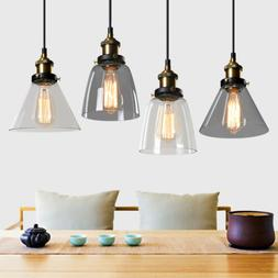 Modern Glass Pendant Lighting Dining Loft Lamp Ceiling Light
