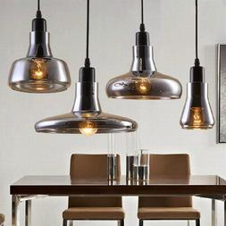 modern smoke glass lamp for dining room