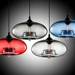 Modern Vintage Glass Ceiling Lamp Chandelier Loft Lighting F