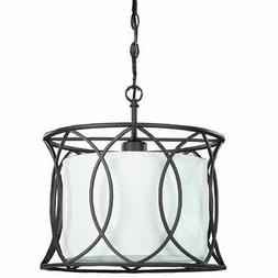 Monica 1 Light Pendant Size: 13""