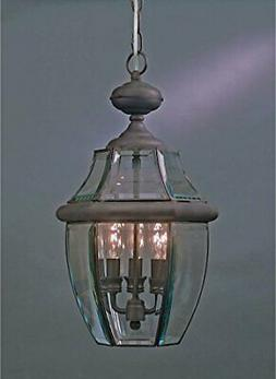 Quoizel NY1179Z  Newbury 3-Light Outdoor Lantern, Medici Bro
