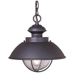 "Vaxcel Vaxcel OD21506TB Harwich 10"" Outdoor Pendant, Texture"