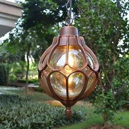outdoor hanging pendant light fixture antique industrial