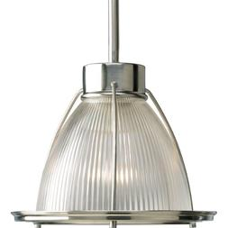 Progress Lighting P5163-09 1-Light Stem Hung Mini-Pendant wi