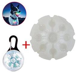 Zerlar LED Pet Glowing Bites Ball With Seven Colorful Light