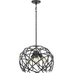 Quoizel Lighting-QF4031OK-Pantheon - Three Light Pendant  Ol