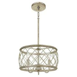 Quoizel Lighting RDY2815CS Dury 3 Light Pendant Light, Centu
