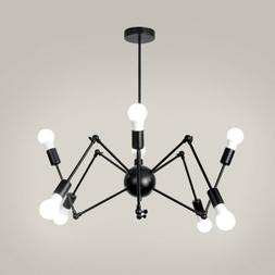 Retro Vintage Industrial Spider DIY Ceiling Pendant Light Ed
