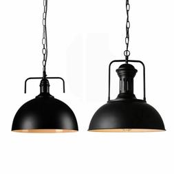 Rustic Industrial Vintage Metal Shade Pendant Light Hanging
