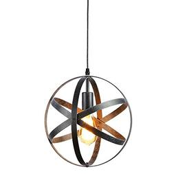 Create for Life Rustic Pendant Light Chandelier One Light Pe