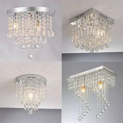 Silver PENDANT CEILING LAMP Crystal Ball Fixture Light Chand