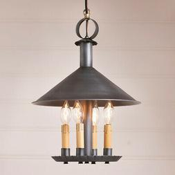 Smethport Pendant Light Antiqued Tin Country Colonial Indoor