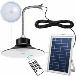 Solar Light Outdoor Indoor Dimmable Time Setting Remote Cont