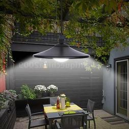 Solar Powered Garden Patio Hanging Shed LED Lamp Pendant Lig