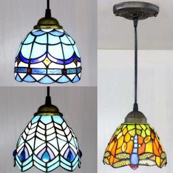 Stained Glass Tiffany Style Hanging Pendant Light Ceiling Li