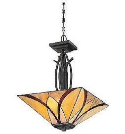 Quoizel TFAS2817VA 3-Light Asheville Pendant in Valiant Bron