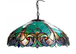 Tiffany Hanging Light Lamp Ceiling Chandelier Pendant Staine