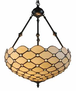 Tiffany Style Hanging Pendant Lamp Light Chandelier Ceiling