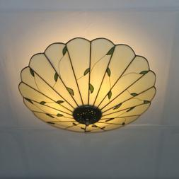 tiffany style stained glass hanging pendant light