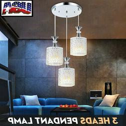 US Flower Petal Ceiling Light LED Pendant Lamp Dining Room C