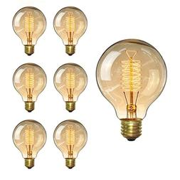 KINGSO Vintage Edison Bulb 60W Incandescent Antique Light Bu