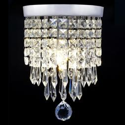 Modern Pendant Ceiling Lamp Crystal Ball Fixture Chandelier