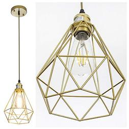 POPILION Vintage Simple Style Polygon Adjustable Cord Hangin