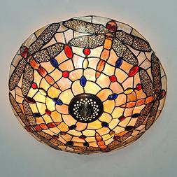 A Million Vintage Tiffany Dragonfly Stained Glass Ceiling Li