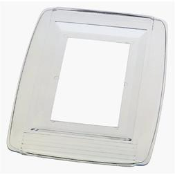Westinghouse Wall Shield 1 Gang Clear Carded