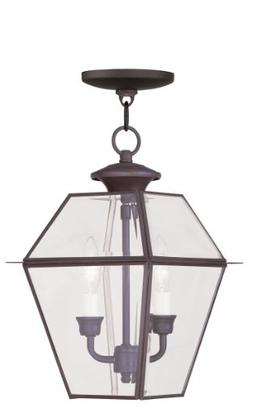 Livex Lighting 2285-07 Westover 2-Light Outdoor Hanging Lant